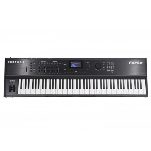 Brand New Kurzweil Forte 88 note fully-weighted hammer-action with velocity and aftertouch sensitive