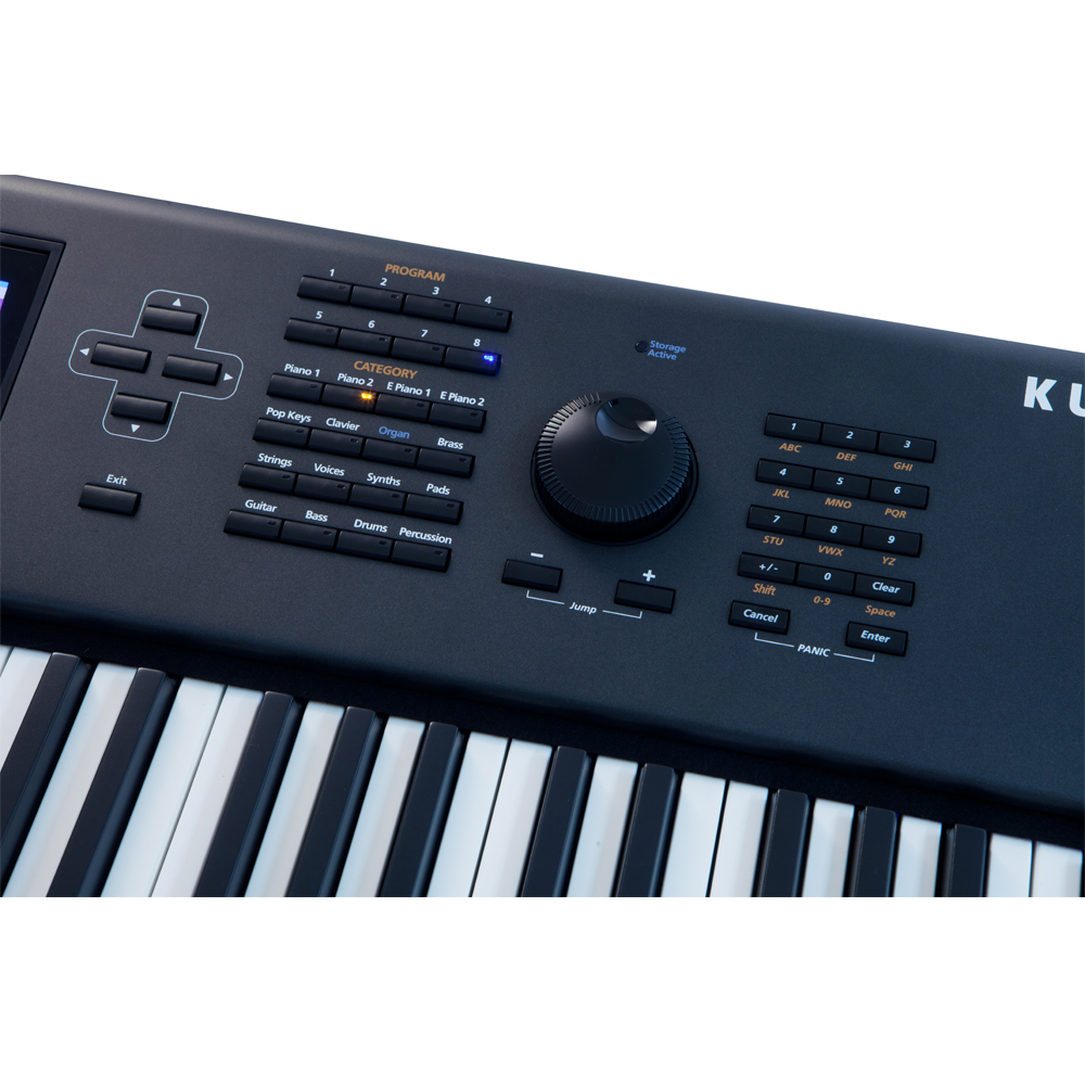 brand new kurzweil pc3a8 88 note fully weighted hammer action with velocity and aftertouch keys. Black Bedroom Furniture Sets. Home Design Ideas
