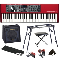 Nord Electro 5D 61 Key Semi-Weighted Action Special Bundle 4-61E