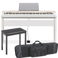 Casio Privia  PX-160 88-key weighted Digital piano Special Home Bundle SHW5