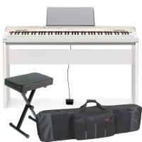 Casio Privia  PX-160 88-key weighted Digital piano Special Home Bundle SHW4