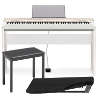 Casio Privia  PX-160 88-key weighted Digital piano Special Home Bundle SHW3