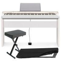Casio Privia  PX-160 88-key weighted Digital piano Special Home Bundle SHW2