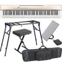 Casio PX-160 88-key weighted Digital piano Special Stage Bundle SB5W