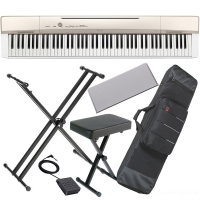 Casio PX-160 88-key weighted Digital piano Special Stage Bundle SB3W