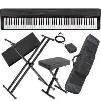 Casio Privia  PX-160 88-key weighted Digital piano Special Stage Bundle SB3