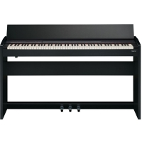New Roland F140R Black 88 weighted key Slim Modern design digital Piano