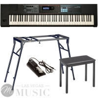 Roland JUNO DS88  Synthesizer  88 Weighted Key with 4-legged Stand, 4-legged Bench, Sustain Pedal