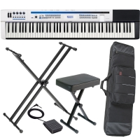 Casio  Privia PX 5S Pro Digital Stage piano 88 key weighted with XStand, X Bench, Carrying Bag