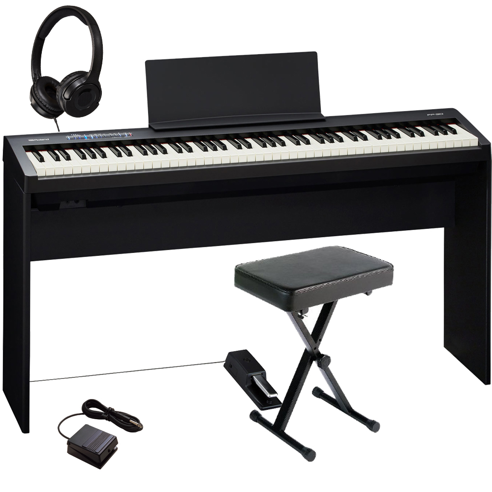 Brand New Roland Fp 30 Black 88 Key Weighted With