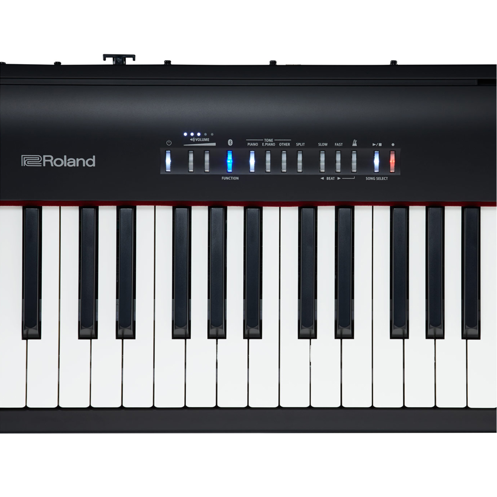 brand new roland fp 30 black 88 key weighted with matching cabinet stand x bench dp 10 pedal. Black Bedroom Furniture Sets. Home Design Ideas