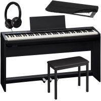 Brand New Roland FP-30 Black 88- Key Weighted with Cabinet Stand, 3 Pedal, 4-legged Bench, HP, D/C
