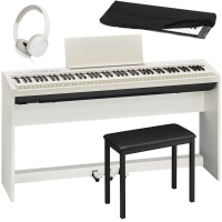 Brand New Roland FP-30 White 88- Key Weighted with Cabinet Stand, 3 Pedal, 4-legged Bench, HP, D/C
