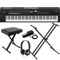 New Roland RD 2000 Portable Stage Piano 88 weighted key with X Stand, X bench, Pedal and Headphones