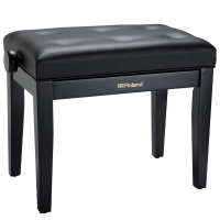 Roland RPB-300 Adjustable Piano Bench Satin Black