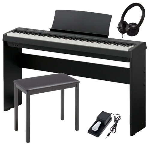 brand new kawai es110 portable digital piano 88 key weighted with matching cabinet stand 4. Black Bedroom Furniture Sets. Home Design Ideas