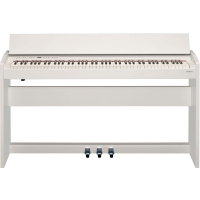 Mint-Condition Roland F140R White  88 weighted key Slim Modern design digital Piano