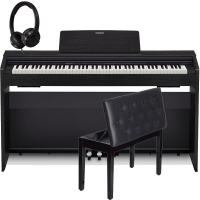 Casio PX870BK  Privia  Home Digital Piano 88 key weighted with Storage Bench and Headphones