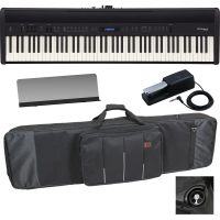 RolandRoland FP-60 Black Stage Digital Piano 88 Key Weighted With Carrying Bag With Wheels