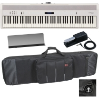 RolandRoland FP-60 White Stage Digital Piano 88 Key Weighted and Carrying Bag With Wheels