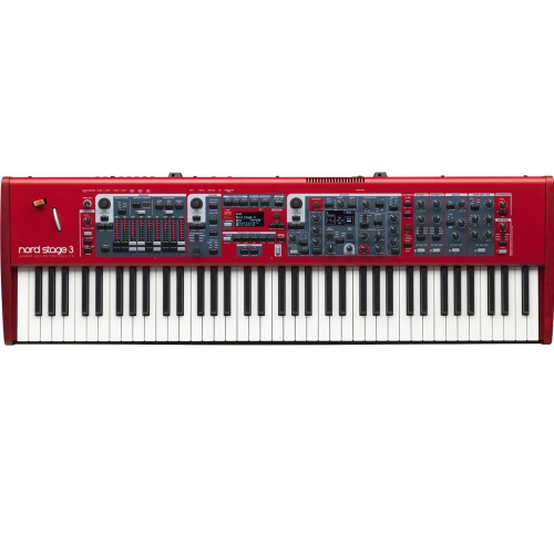 Nord Stage 3 HP 76- Note Hammer Action Portable Keybed