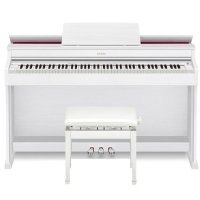 New Casio Celviano AP-470WH 88 Key Weighted with Adjustable Bench and 5 Years Home Service Warranty