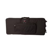 Gator GK-88 SLXL Rigid Lightweight Case w/ Wheels for Slim, Extra long 88 Note Keyboards