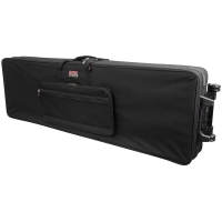 Gator GK-88 XL Rigid Lightweight Case w/ Wheels for Extra Long 88 Note Keyboards