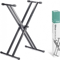 Stagg KXSQ5 Double Braced X-style Keyboard Stand