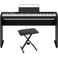 CasioCasio PX-S1000 Privia Portable Digital Piano Black with CS-68(Cabinet Stand), Casio ARBench