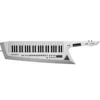 New Roland AX-Edge 49-key Keytar Synthesizer - White