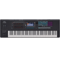 RolandRoland Fantom 7 Music Workstation Keyboard 76 Keys (semi-weighted keyboard and channel aftertouch)