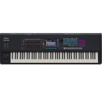 RolandRoland Fantom 8 Music Workstation Keyboard 88 Keys (PHA-50 Wood and Plastic Hybrid Structure, with Escapement and Ebony/Ivory Feel, channel aftertouch)