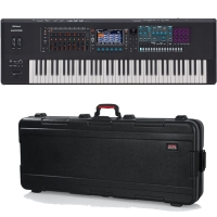 Roland Fantom 7 Music Workstation Keyboard 76 Keys (semi-weighted keyboard and channel aftertouch) & Limited Time Offer FREE Gator GTSA-KEY76 Keyboard Hard Case