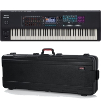 RolandRoland Fantom 8 Music Workstation Keyboard 88 Keys (PHA-50 Wood and Plastic Hybrid Structure, with Escapement and Ebony/Ivory Feel, channel aftertouch) & Limited Time Offer FREE Gator GTSA-KEY88 Keyboard Hard Case